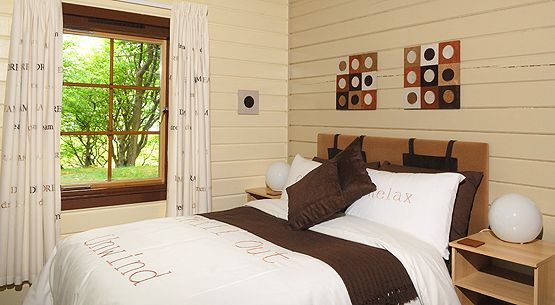 Hideaway Lodges - Ulva Bedroom